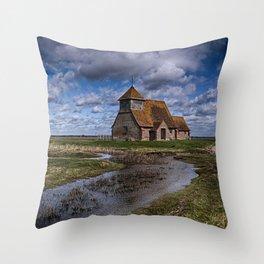 St Thomas Becket Fairfield Throw Pillow