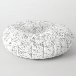 Yoga Manuscript Floor Pillow