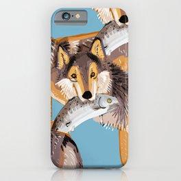 Vancouver Coastal Wolf iPhone Case