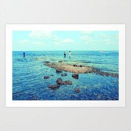 fishin' Art Print