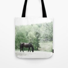 Horse and Tree Tote Bag