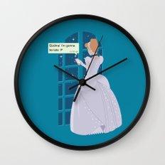 Cinderella - At home before midnight Wall Clock