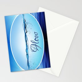 """""""Flow"""" Stationery Cards"""