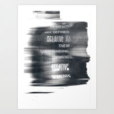 Moments Art Print