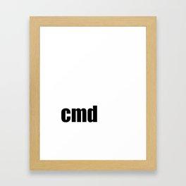 Cmd Framed Art Print