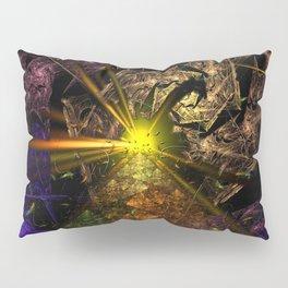Machu Picchu 3D Fractal Pillow Sham