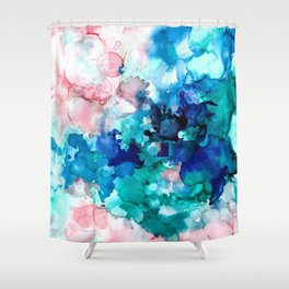 Falling in Love Shower Curtain