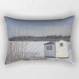 Ice House Rectangular Pillow