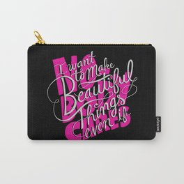 ...even if nobody cares Carry-All Pouch