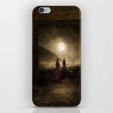 Escape to the Moon iPhone Skin