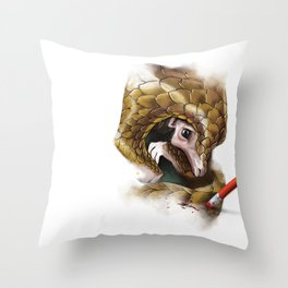 WE ALL ARE TOGETHER: DON'T ERASE ME Throw Pillow