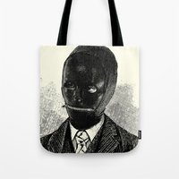 bdsm Tote Bags featuring BDSM II by DIVIDUS
