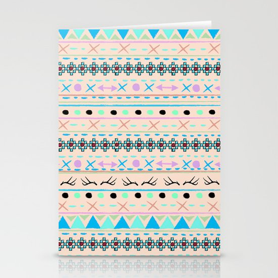 SWEET WINTER PATTERN Stationery Cards