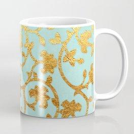 Golden Damask pattern Coffee Mug