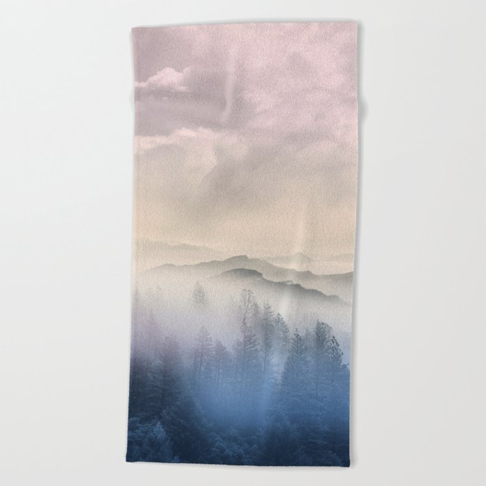 Pastel vibes 56 Beach Towel