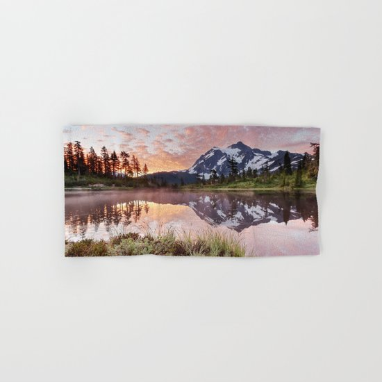 Mt Shuksan Hand & Bath Towel