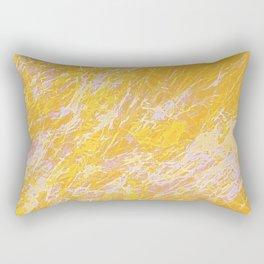 Embrace Sunshine - Minimal Abstraction Rectangular Pillow