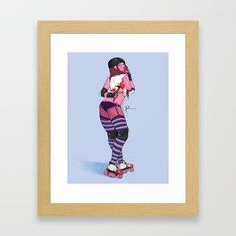 Back Block Framed Art Print