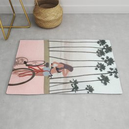Seaside Biking Rug