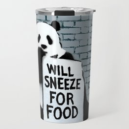 Will sneeze for food Travel Mug