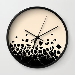 Levitation #102 Rose Wall Clock