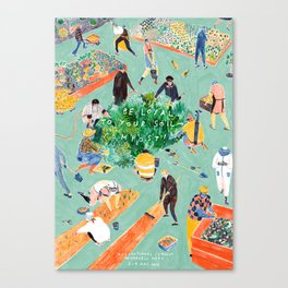Compost Awareness Week Canvas Print