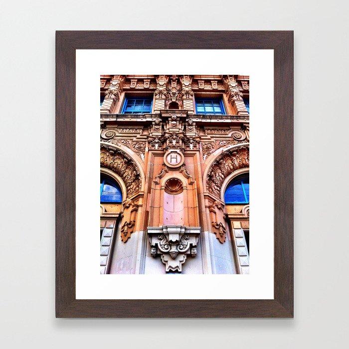mission.uno Framed Art Print