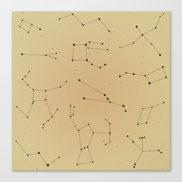 Summer Triangle Canvas Print