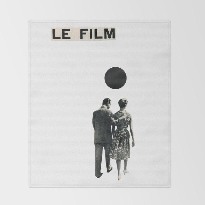 Le Film Throw Blanket