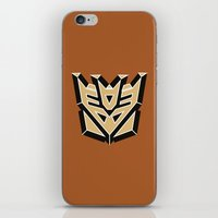 transformers iPhone & iPod Skins featuring Transformers by FilmsQuiz
