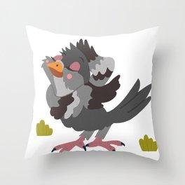 Pretty Pigeon Throw Pillow