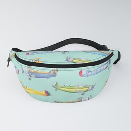Vintage Airplanes Fanny Pack