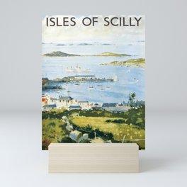 Railwayposter The Isles of Scilly Mini Art Print