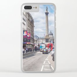 Whitehall, London, Summer day 2016 Clear iPhone Case