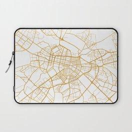 SOFIA BULGARIA CITY STREET MAP ART Laptop Sleeve
