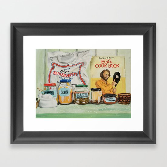 Cloves Framed Art Print