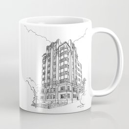 Surrey Mansions Coffee Mug