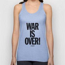 War Is Over - If You Want It -  John Lenon & Yoko Ono Poster Unisex Tank Top