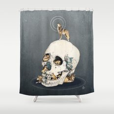 WOLFPACK Shower Curtain