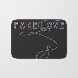 BTS - Fake Love Bath Mat