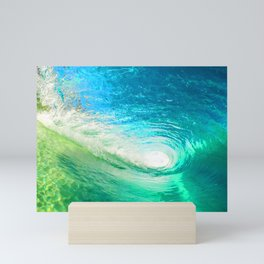 Surf Wave Mini Art Print