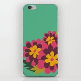 Flowers for Lola iPhone Skin