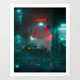 Enter Night Art Print
