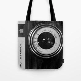 Lomo Camera Cosmic Symbol Tote Bag