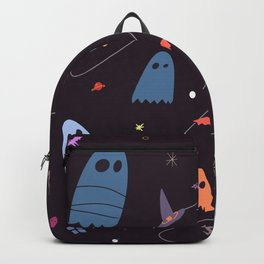 Spooky Ghost Halloween Party Backpack
