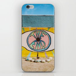 The End in Yucca Valley iPhone Skin
