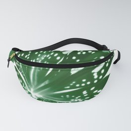 Lily Infrared In Green Fanny Pack