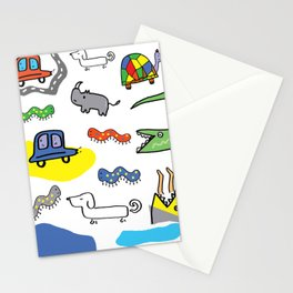 Animals n stuff Stationery Cards