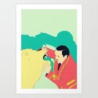 circus Art Prints featuring Circus by ministryofpixel