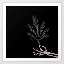 Smokin Sativa Art Print